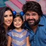 Cantor sertanejo comemora aniversário da filha de 5 anos