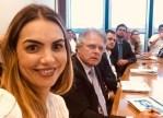 No Rio, Paula Belmonte faz visita técnica no BNDES com deputados da CPI