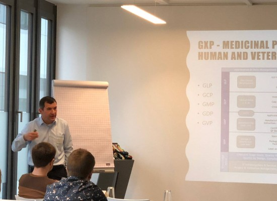 Markus Roemer, in Stuttgart, puts order in the GXP regulatory landscape
