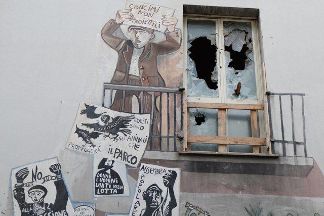 Die berühmten Murales von Orgosolo.