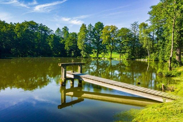 Teich im Yspertal.