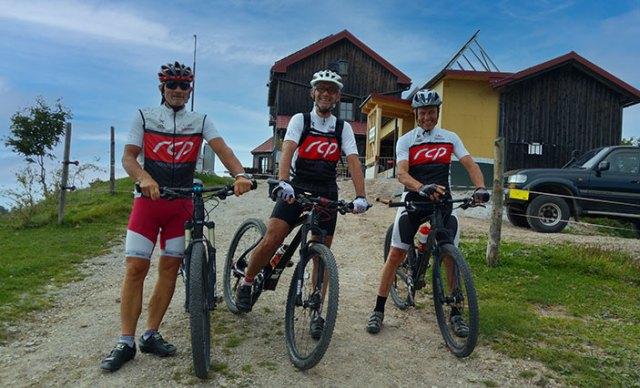 Mountainbiker am Eisenstein.