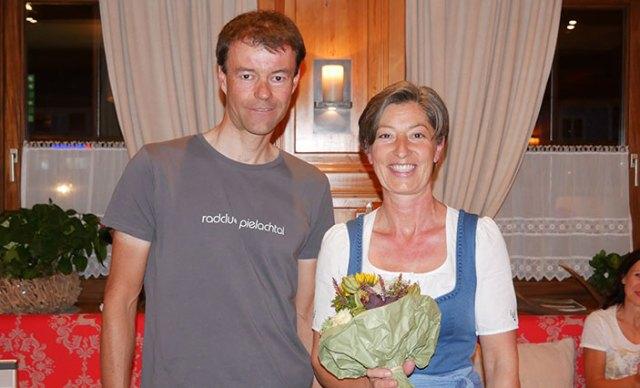 Obmann Gerhard Trimmel und Sonja Kalteis.