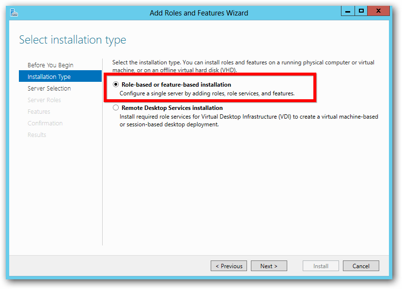 windows server add roles