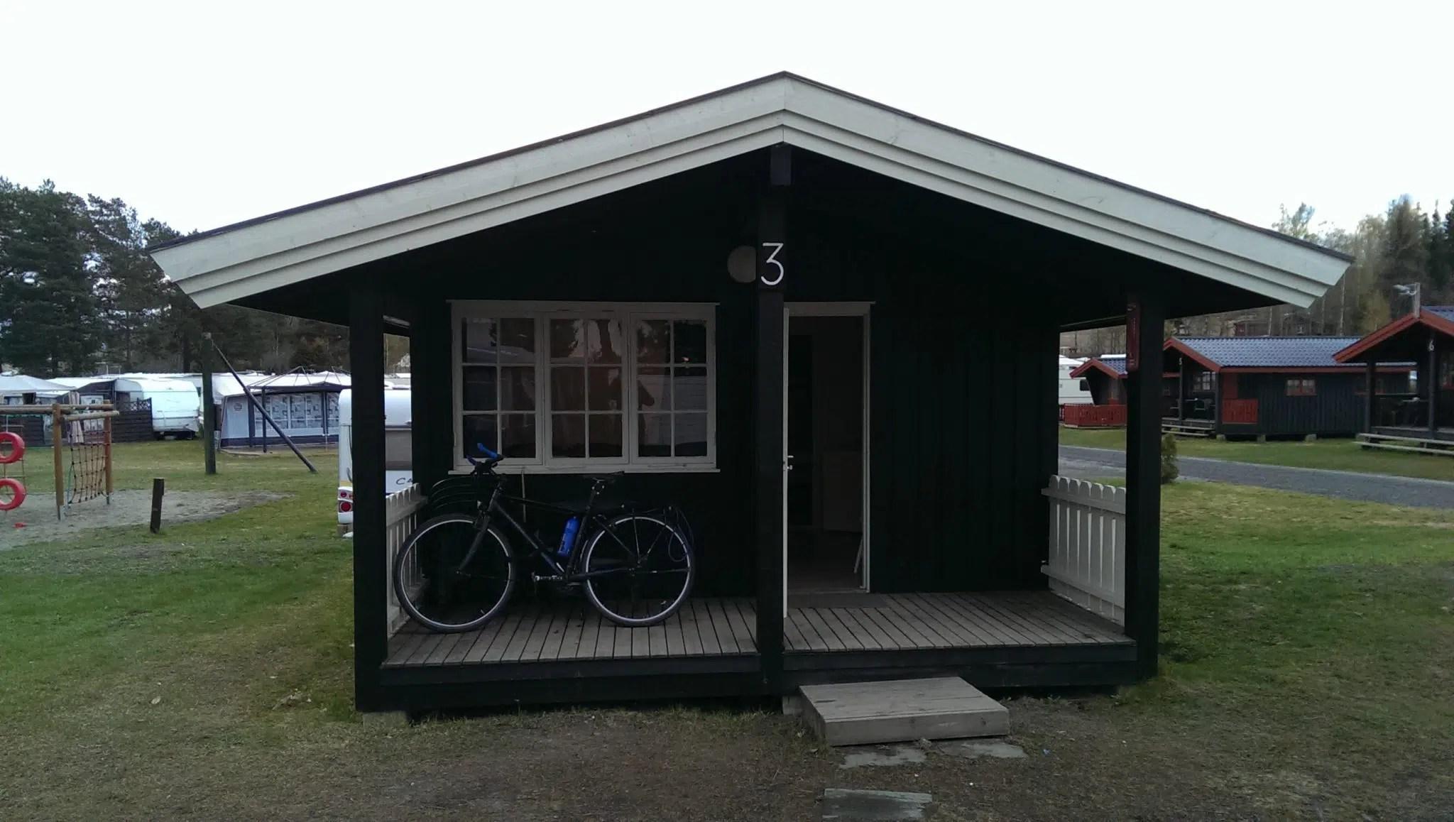 Die Rettung! Meine erste, eigene Cabin auf der Tour.