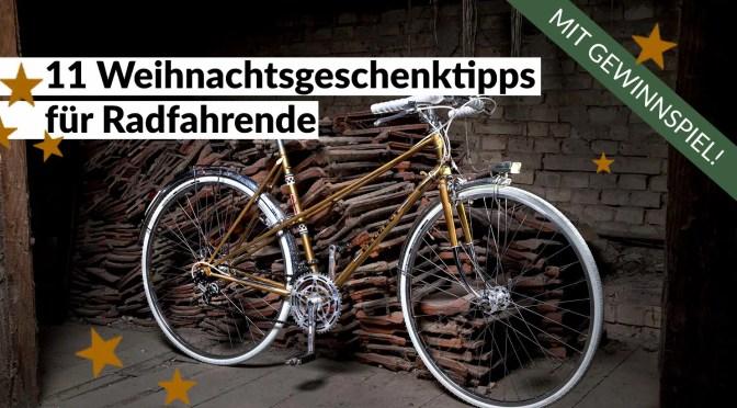 11 Weihnachtsgeschenktipps für Radfahrende – mit Gewinnspiel!