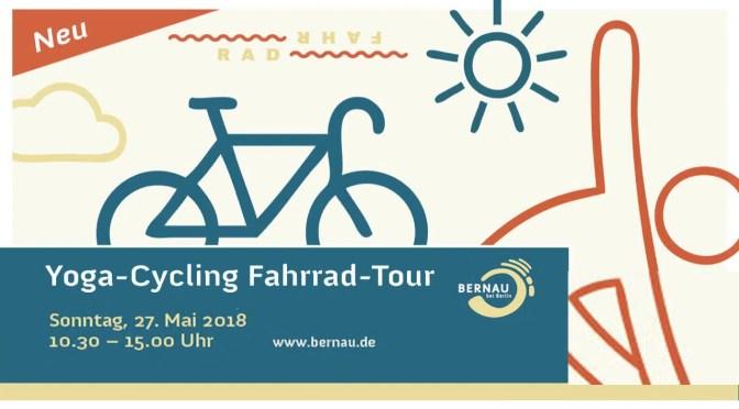 Verlosung: 1+1 Plätze bei der Yoga-Cycling Fahrrad-Tour