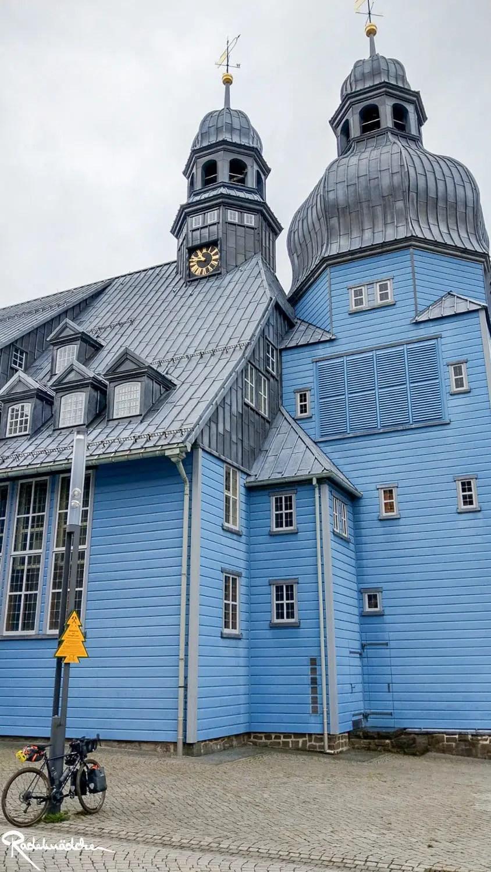 Blaue Holzkirche Clausthal-Zellerfeld