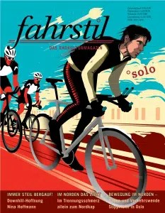 Fahrstil cover solo mit Radfahrenden