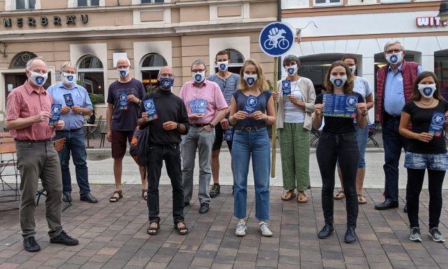 Das Team des Radentscheid Freising