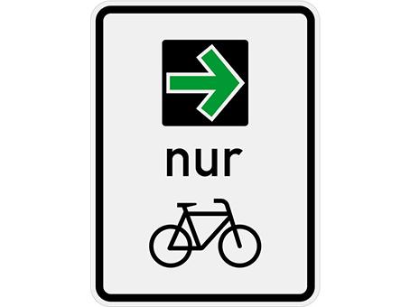 Grünpfeil für Radfahrer*innen