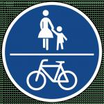 240_Gemeinsamer Geh-und- Radweg