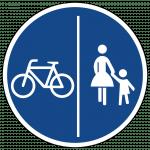STVO Zeichen 241-30 Getrennter Rad- und Fußweg