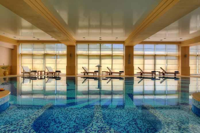 Unutrašnji bazen, Spa&Wellness hotela MonteCasa, Petrovac, Profesionalni fotograf, Foto Radević