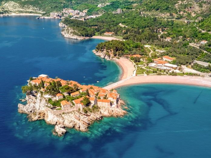 Dron fotografija: Aman Resort Montenegro, Sveti Stefan, Budva, Profesionalni fotograf, Foto Radević