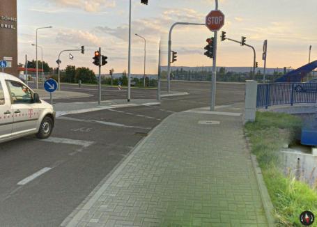 Radfahrerfreundlich bis vor der Änderung Ende November´16