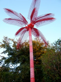 Because we don't have enough real palm trees in Miami, let's add this fake one.