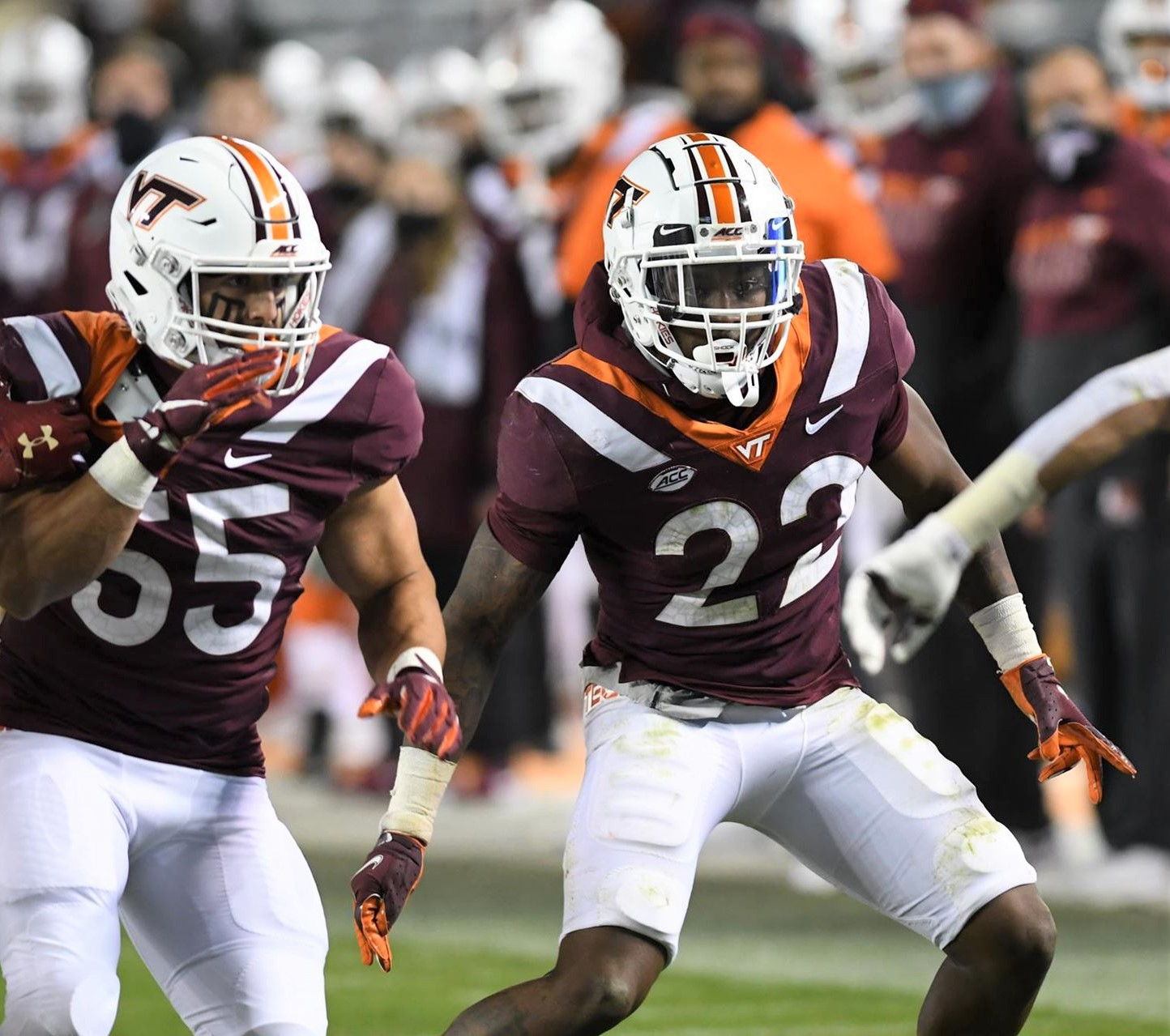 DB Conner, OL Nester earn ACC Player of the Week honors
