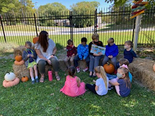 Pumpkin Day tradition continues for Radford kindergarteners