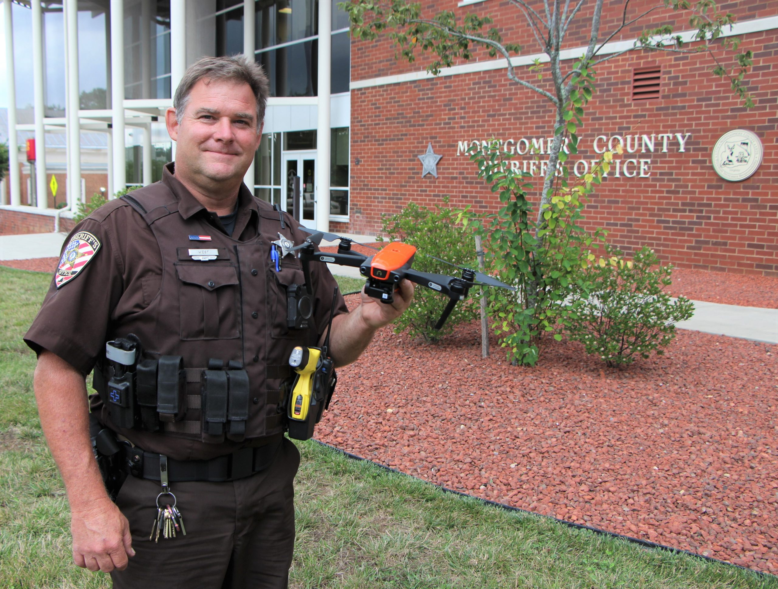 Montgomery sheriff's department looks to the sky for help
