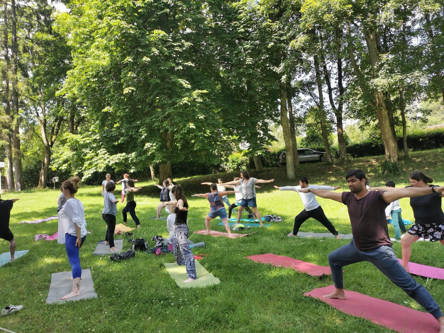 radhadesh 2020 yoga day