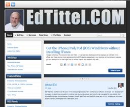 EdTittel.com web site image