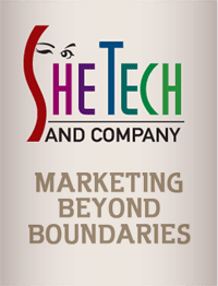 SheTech and Company. marketing beyond boundaries.