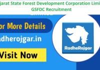 GSFDC Recruitment