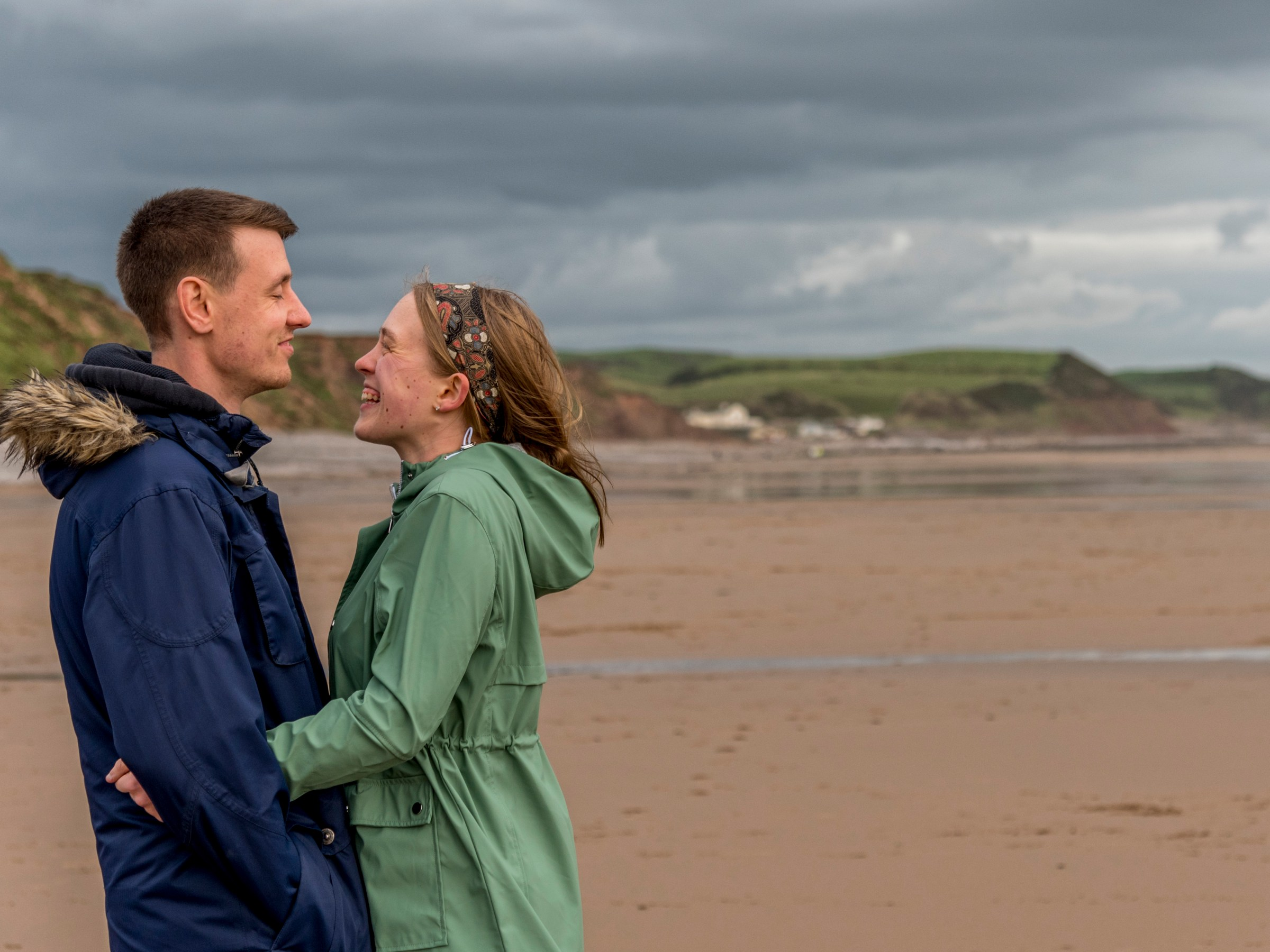 St Bees Coastal Engagement shoot by Radiance Photography. Relaxed, contemporary photography in Cumbria and the Lake District.