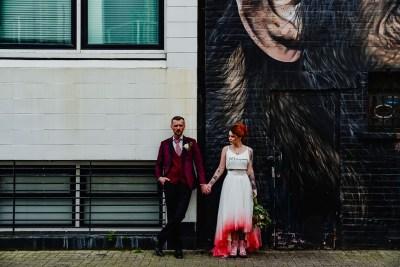 Urban elopement photo
