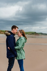 St Bees Beach Engagement-2