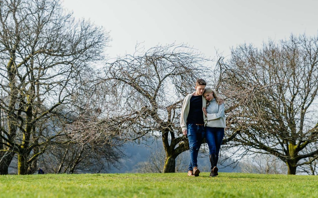 A romantic stroll in Borens Park, Ambleside