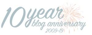 Shari Zisk B.A., 10 year blogging anniversary (2009-19)