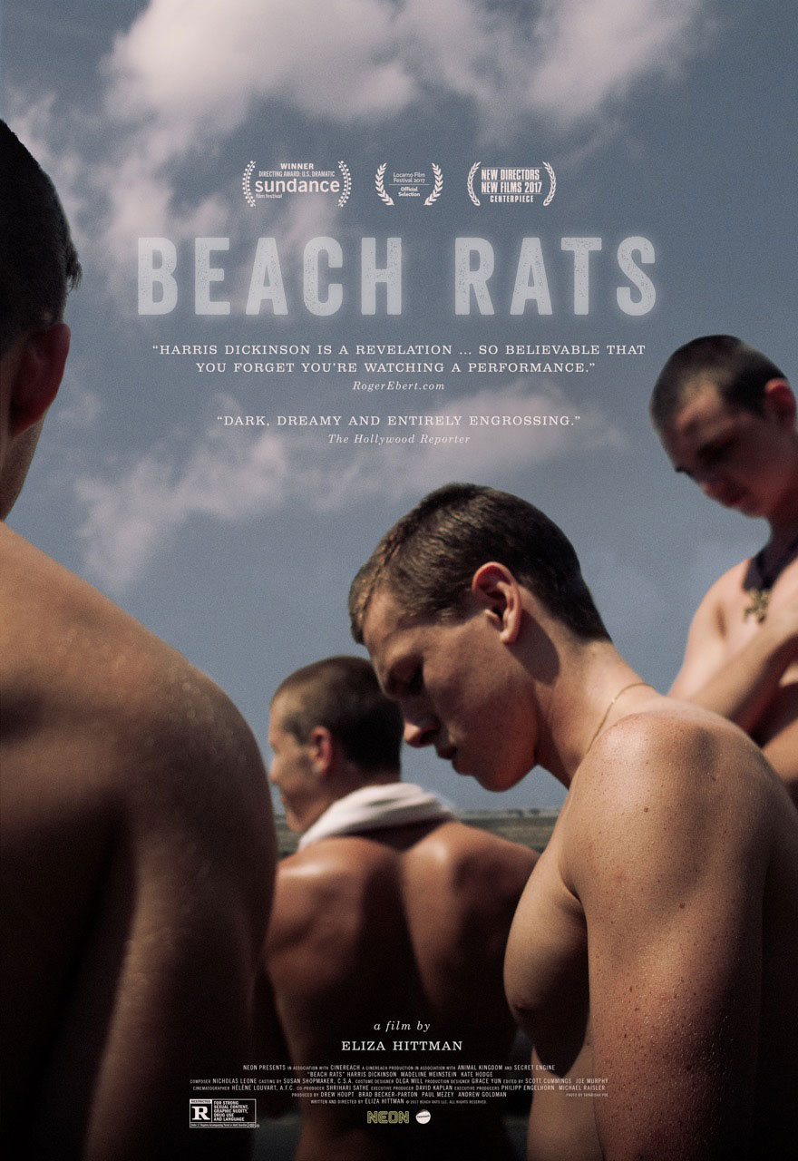 LONDON FILM FESTIVAL: BEACH RATS (2017) screened at Picturehouse Central (06 OCT).