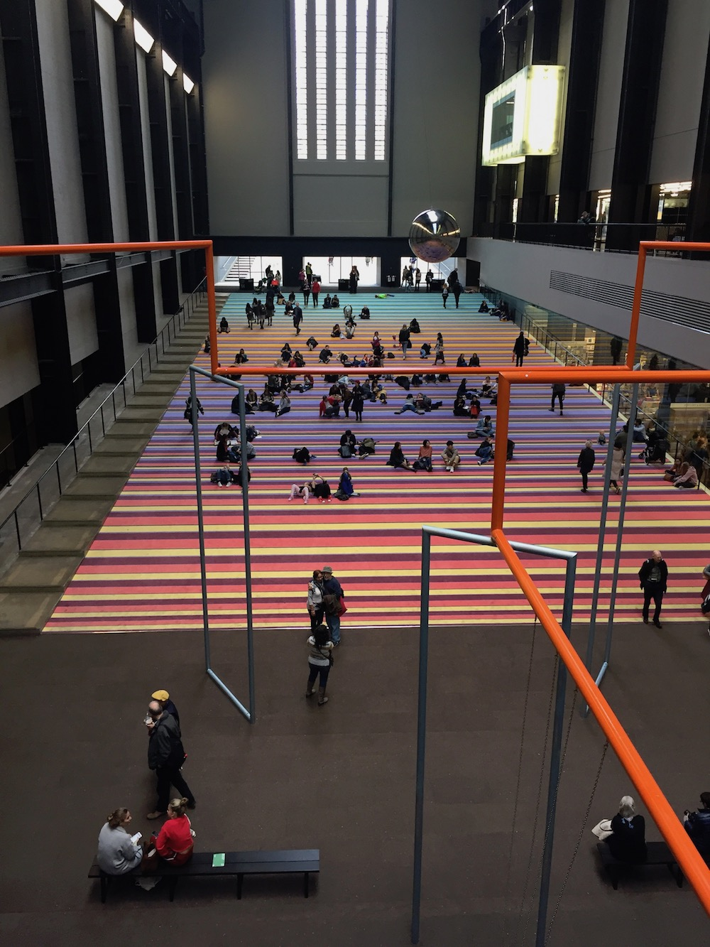 ONE TWO THREE SWING! by SUPERFLEX is at Tate Modern (until 02 APR 2018).