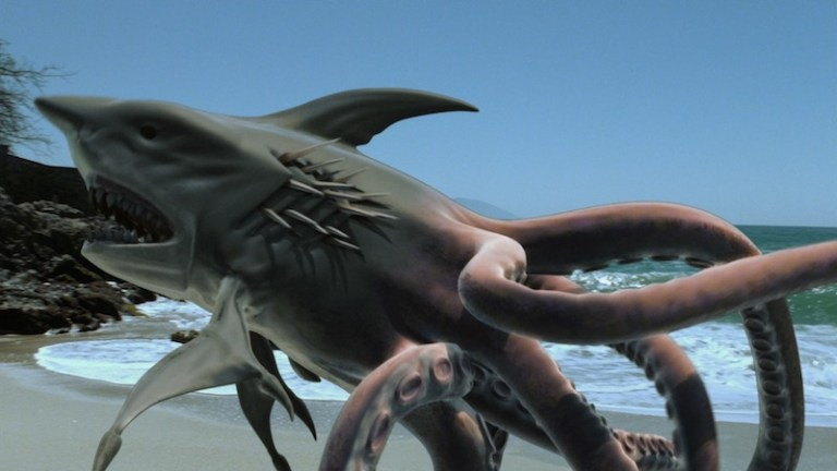 COMING SOON: SHARKTOPUS might be discussed at The Horse Hospital (12 OCT).