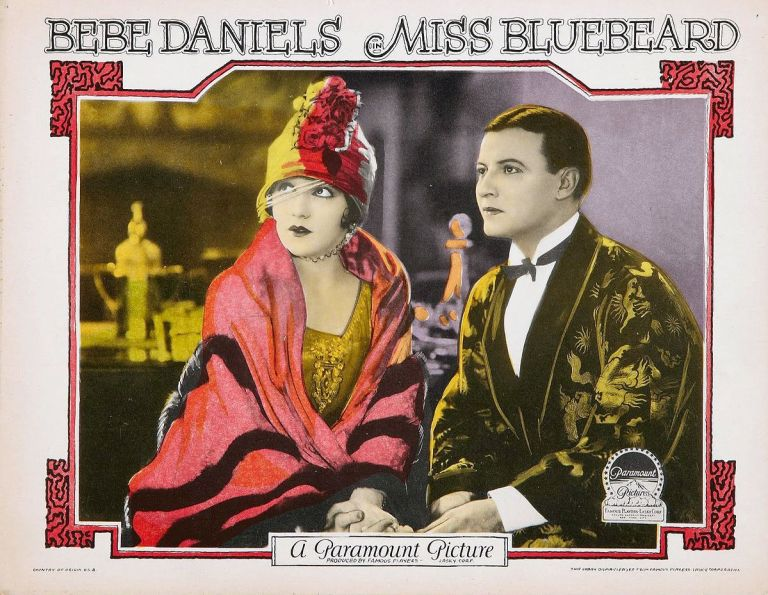 NOW BOOKING: MISS BLUEBEARD screens at The Cinema Museum (20 DEC).