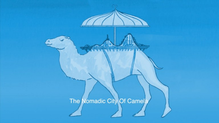 THE NOMADIC CITY OF CAMELA screens at Whitechapel Gallery (from 05 DEC).