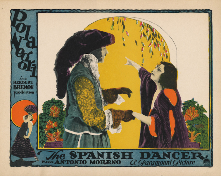 Radiant Circus Special Features: THE SPANISH DANCER at Kennington Bioscope (23 MAY).