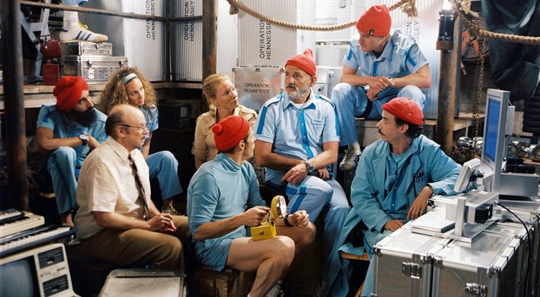 Turbans Seen On Screen: Waris Ahluwalia in THE LIFE AQUATIC.