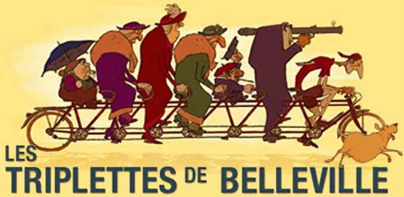 Films in London: BELLEVILLE RENDEZ-VOUS at Ealing Town Hall (20 JUL).