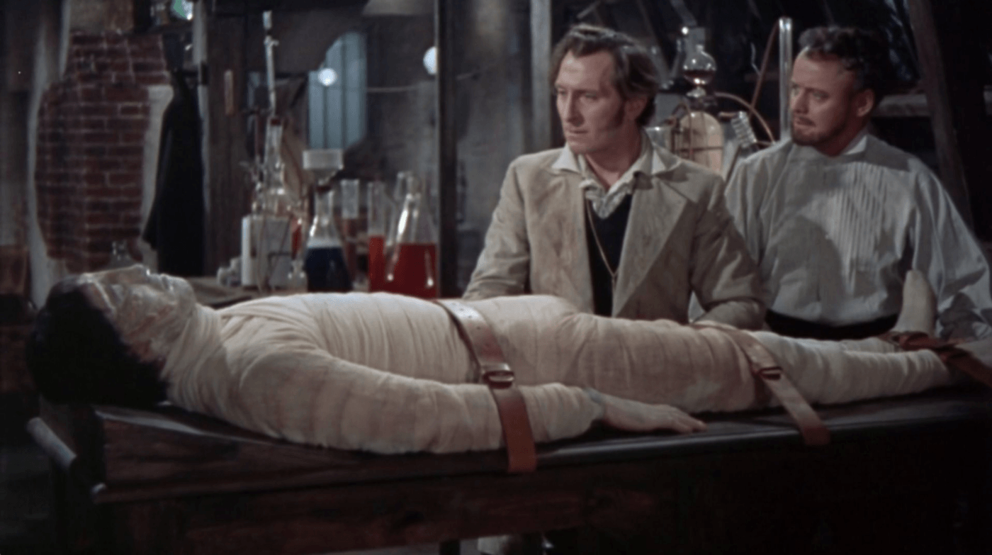 Films in London today: THE CURSE OF FRANKENSTEIN at The Institute Of Light (16 JUL).
