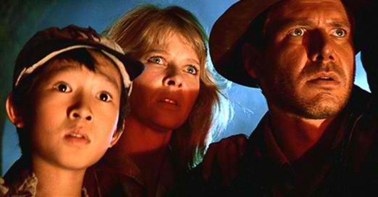 Films in London today: INDIANA JONES AND THE TEMPLE OF DOOM at Prince Charles, part of Scalarama (18 SEP).