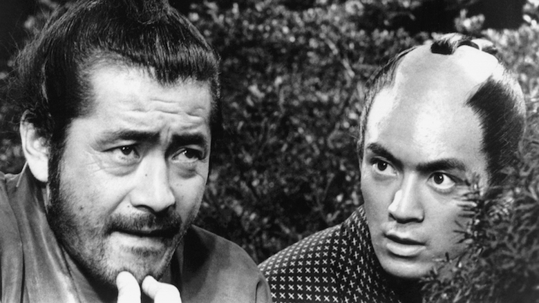 Films in London this week: SANJURO at Ealing Town Hall (12 OCT).