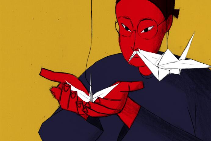 Screen Diary - WOFFF: TOUGH by Jennifer Zheng (2016).