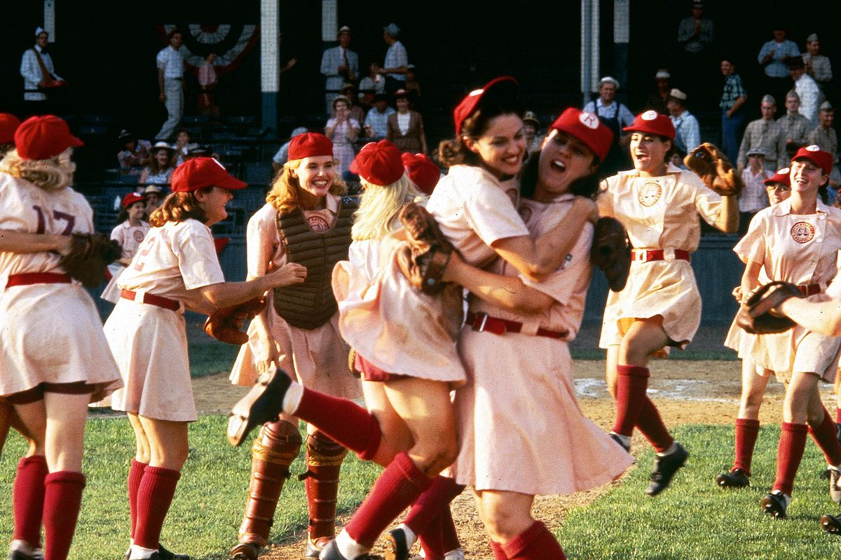 Films in London today: A LEAGUE OF THEIR OWN at The Prince Charles (25 FEB).