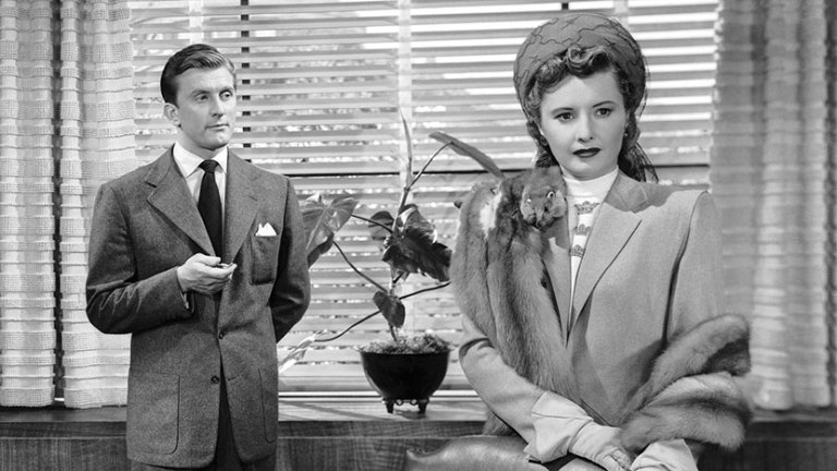 Films in London today: THE STRANGE LOVE OF MARTHA IVERS at BFI (11 FEB).