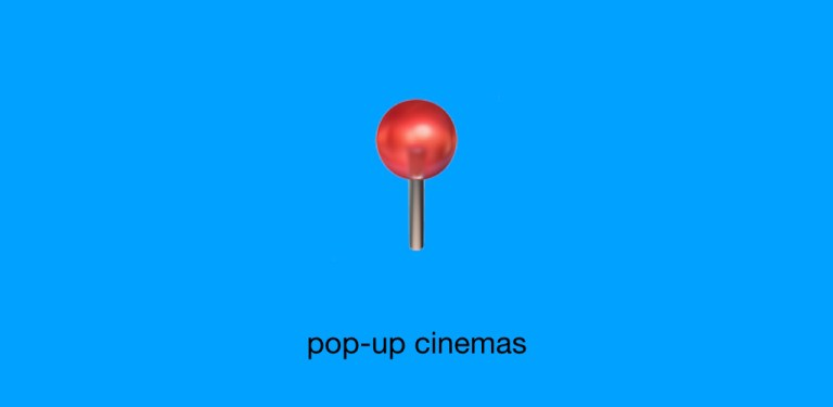 Discover more #LDNindieFILM with Radiant Circus, London's alternative guide to independent cinema: 3 - pop-up cinemas.