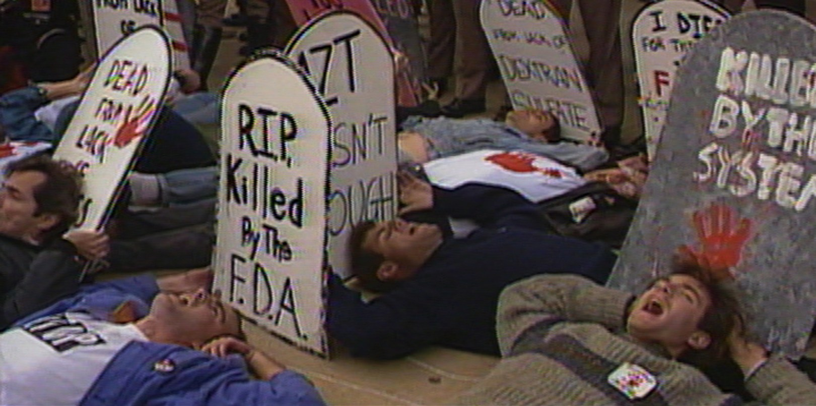 Films in London today: UNITED IN ANGER: A HISTORY OF ACT UP at Rich Mix (01 MAY).