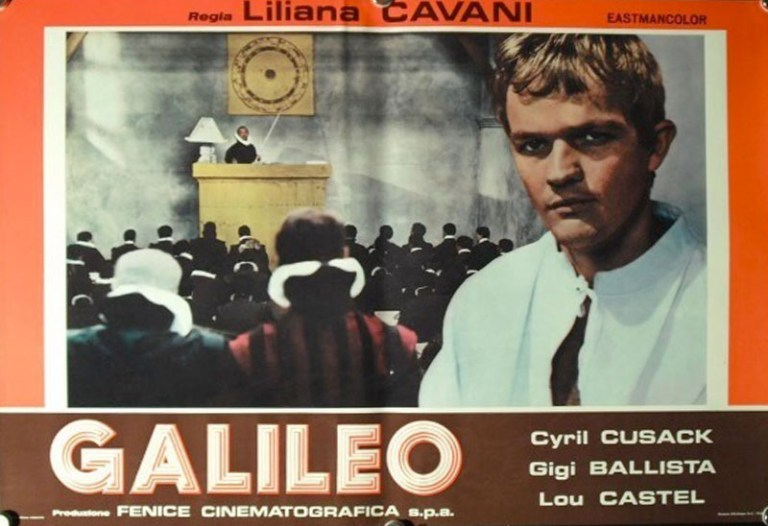Films in London today: GALILEO, part of LILIANA CAVANI: 1966-1970 at Deptford Cinema (20 MAY).